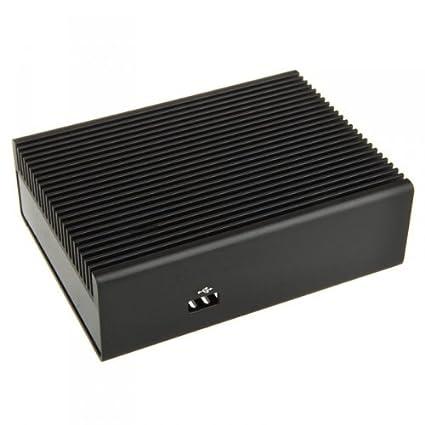 Streacom ST-NC1B-GK Intel NUC Aluminium Gehäuse - schwarz