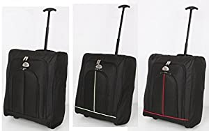 Elegant® Ryan Air EasyJet Trolley Cabin Approved Wheeled Suitcase Hand Luggage Flight Bag