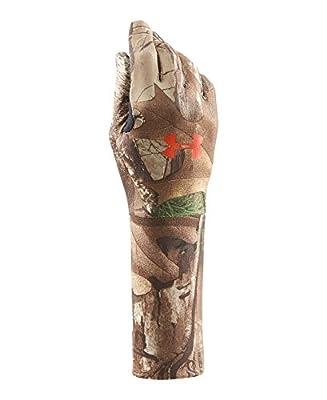 Under Armour Boys' Youth Camo CG Liner Glove Gloves
