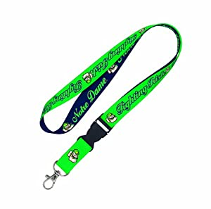 Buy NCAA Notre Dame Fighting Irish Lanyard with Detachable Buckle-X-Line by WinCraft