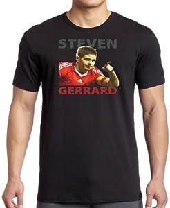 Steven Gerrard - Football Legend T Shirt by eGlobal UK