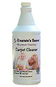 einstein 39 s secret carpet cleaner all natural no chemicals fragrance odor free safe for babies. Black Bedroom Furniture Sets. Home Design Ideas