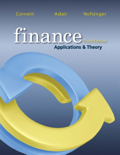 Finance (McGraw-Hill/Irwin Series in Finance, Insurance, and Real Est) image