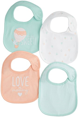 Carters Girls Baby 4-pk. Sherbet Sky Bib Set One Size Multi