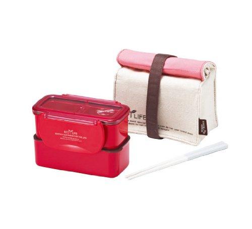 Lock&Lock Mini Lunch Box With Bag, Pink