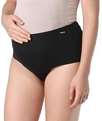 Morph Black Maternity Hygiene Panty (XX-Large)