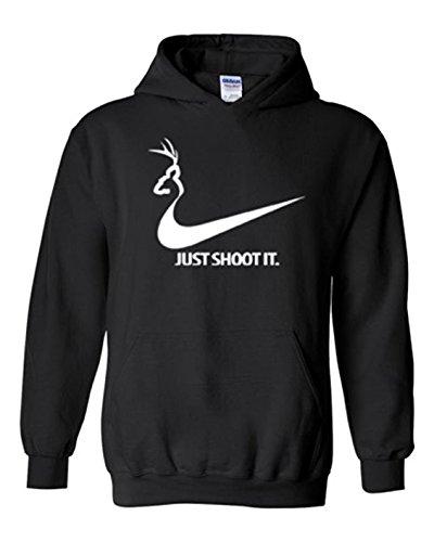 just-shoot-it-mens-deer-hunting-hoodie-black-l