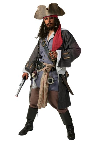 Fun Costumes unisex-adult Realistic Caribbean Pirate Costume