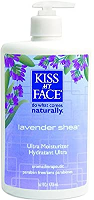 Kiss My Face Ultra Moisturizer Lavender Shea Butter - 16 fl oz