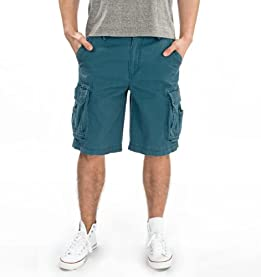 Survivor Cargo Shorts-Deep Ocean