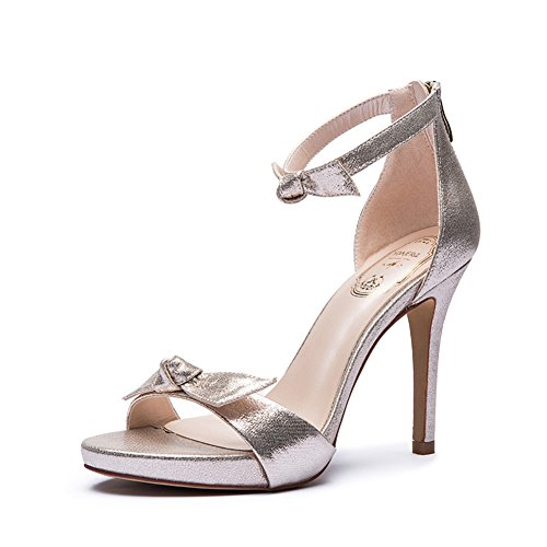 Arc de summer Lady sweet Sandals/Chaussures de haut talon stiletto mode