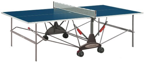 Kettler Stockholm GT Institutional/Tournament Outdoor Table Tennis Table, Blue