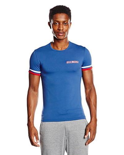BIKKEMBERGS Camiseta Interior Azul