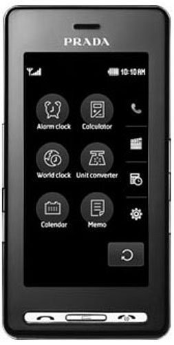 Lg Ke850 Prada Unlocked Phone With Touchscreen, 2 Mp Camera, Mp3/Video Player, And Microsd Slot--International Version With No Warranty (Black)