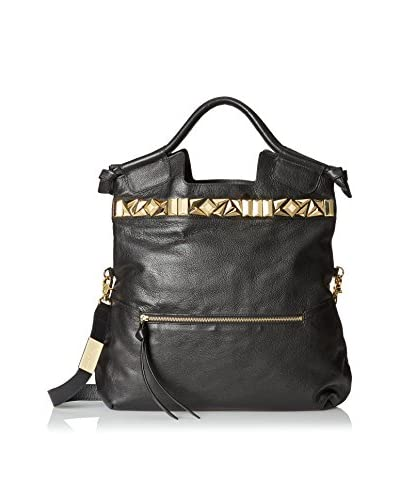 Foley + Corinna Women's Studded Mid City Convertible Top Handle Tote, Black