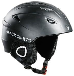 Black Canyon Kitzbühel Unisex Ski Helmet - M - 57-58cm, Black Mat