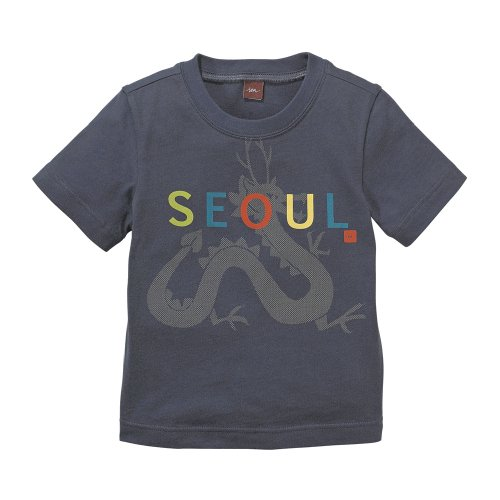 Baby's Store |   Tea Collection Seoul Tee, Indigo