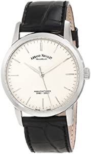 Armand Nicolet Men's 9670A-AG-P670NR1 L10 Limited Edition Stainless Steel Classic Hand Wind Watch by Armand Nicolet
