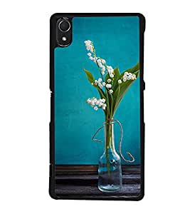 Beautiful Vase 2D Hard Polycarbonate Designer Back Case Cover for Sony Xperia Z3 :: Sony Xperia Z3 Dual :: Sony Xperia Z3 D6633