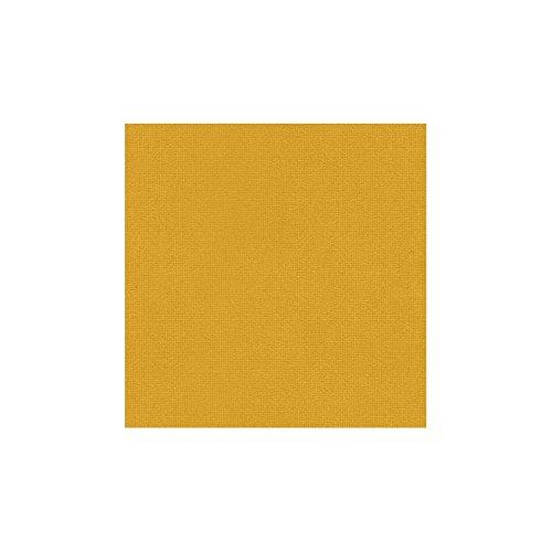 Stoffe - Polsterstoffe - Möbelstoffe - Meterware - Sitzbezug - Optima CS - Trevira CS - Uni - Gelb - MUSTER