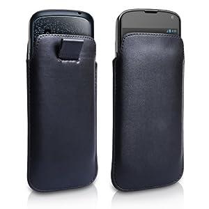 Yousave Accessories LG-FA01-Z108 Etui en PU Cuir pour LG Nexus 4 Noir