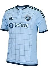 Sporting Kansas City Adidas MLS Performance Replica Jersey - Blue
