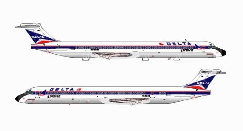 Jet-X Delta Airlines MD-88 N920DE Model Airplane