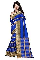 Dealfiza Aura Beauty Blue Saree
