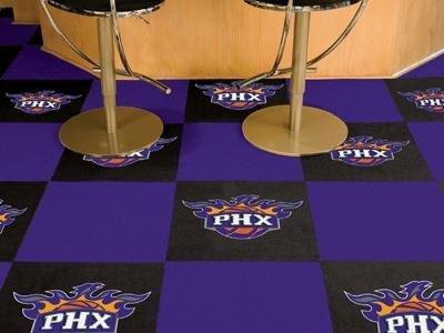 "Phoenix Suns NBA Carpet 18""x18"" Tiles"