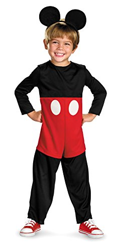 [Baby-Toddler-Costume Mickey Mouse Basic Toddler Costume 3T-4T Halloween Costume] (Mickey Mouse Halloween Costumes For Men)