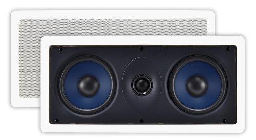 Osd Audio Iw525 Dual 5.25-Inch Polypropylene In-Wall Center Channel Lcr Speaker, Single