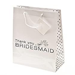 Thank You Bridesmaid Gift Bags 1DZ