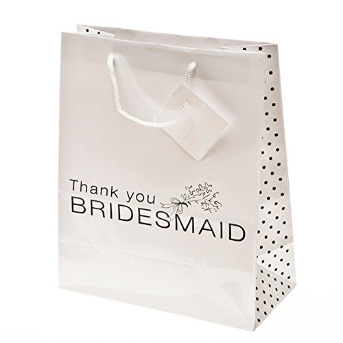 """Thank You Bridesmaid"" Gift Bags 1DZ"