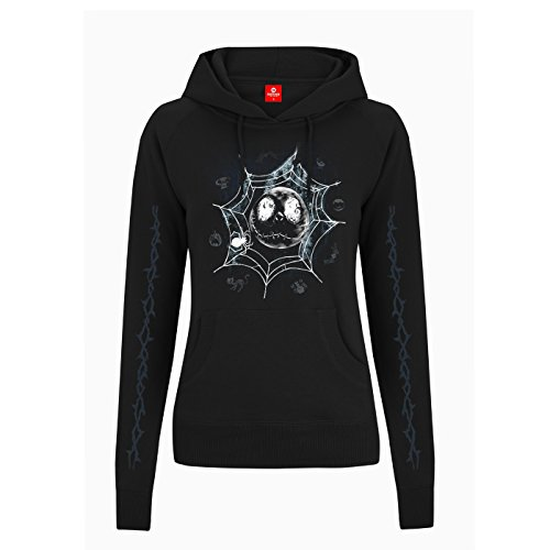 king-of-merch-mujer-sudadera-con-capucha-nightmare-before-christmas-spiderweb-jack-skellington-faces