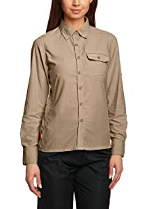 Craghoppers Women's Nosilife Darla II Long Sleeved Shirt - Mushroom, Size 8