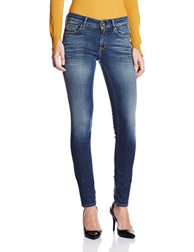 REPLAY Damen Skinny Fit Jeans blau 27 / 32 thumbnail