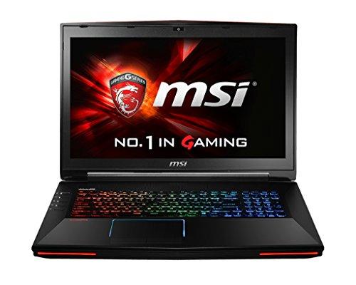 MSI GT72-2QEI7X32SR311BW 001781-SKU43 43,9 cm (17,3 Zoll) Notebook (Intel Substance i7 4980HQ, 2,8GHz, 32GB RAM, 2000GB HDD, Win 8.1) schwarz