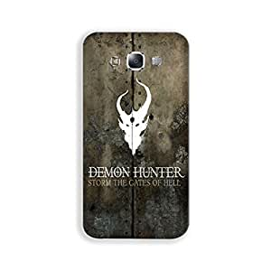Mott2 DemonHunter Back cover for Samsung Galaxy J5 (Limited Time Offers,Please Check the Details Below)