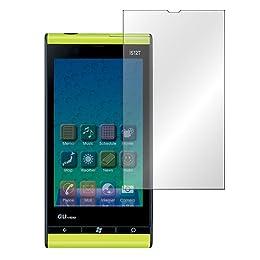 【ノングレアフィルム】 au Windows Phone IS12T専用(ホコリ取り用シート付) 指紋が目立たないフィルム