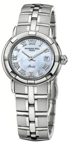 Raymond Weil Parsifal Mother of Pearl Dial Ladies Watch 9441-ST-00908