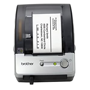 Brother P-Touch QL-500 Manual-Cut PC Label Printing System