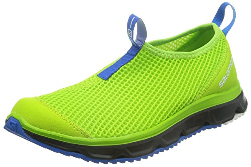 Salomon RX Moc 3.0 Pantofola - Uomo, Nonnetta Verde Black Union Blue, 8