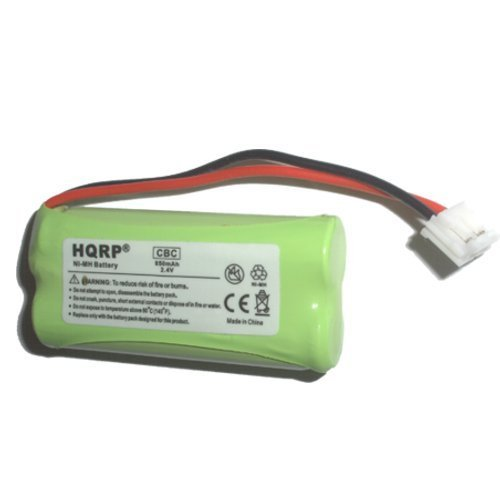 Hqrp Phone Battery For V-Tech / Vtech Cs6209 / Cs 6209, Cs6219 / Cs 6219, Cs6219-2 / Cs 6219-2 Cordless Telephone Plus Coaster