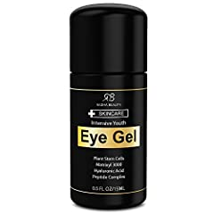 Are you TIRED of Eye bags, Dark Circles, Puffiness and Tired Looking Eyes? *Discover the new INTENSIVE YOUTH EYE GEL by RADHA BEAUTY *Try it 100% risk free, if you are not 100% satisfied we will give you a full refund and you keep the bottle....