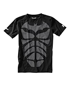 Under Armour Boys' Under Armour® Alter Ego Fitted Short Sleeve Shirt Youth Medium Black