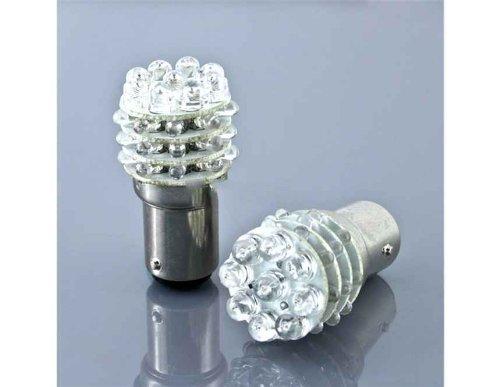 2Pcs 1157 36Led 1.08W Dc12V Red Light Auto Car Stop And Brake Bulb Lamp Set