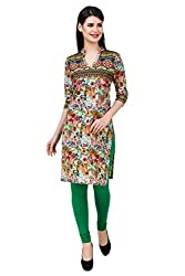 Kurti Collection pure cotton digitally printed butterfly garden ethnic kurti fabric material (Unstitched)