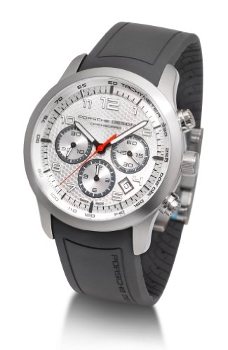 Porsche Design Men's Titanium Automatic Swiss ETA 2894-2 Chronograph Watch 661211141190