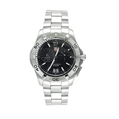 TAG Heuer Men's WAF111Z.BA0801 Aquaracer Alarm Stainless Steel Watch
