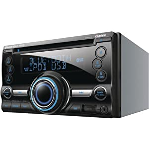 Double-DIN CD/Bluetooth/USB Receiver - CLARION